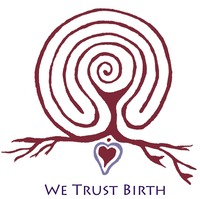 We Trust Birth Labryinth Logo